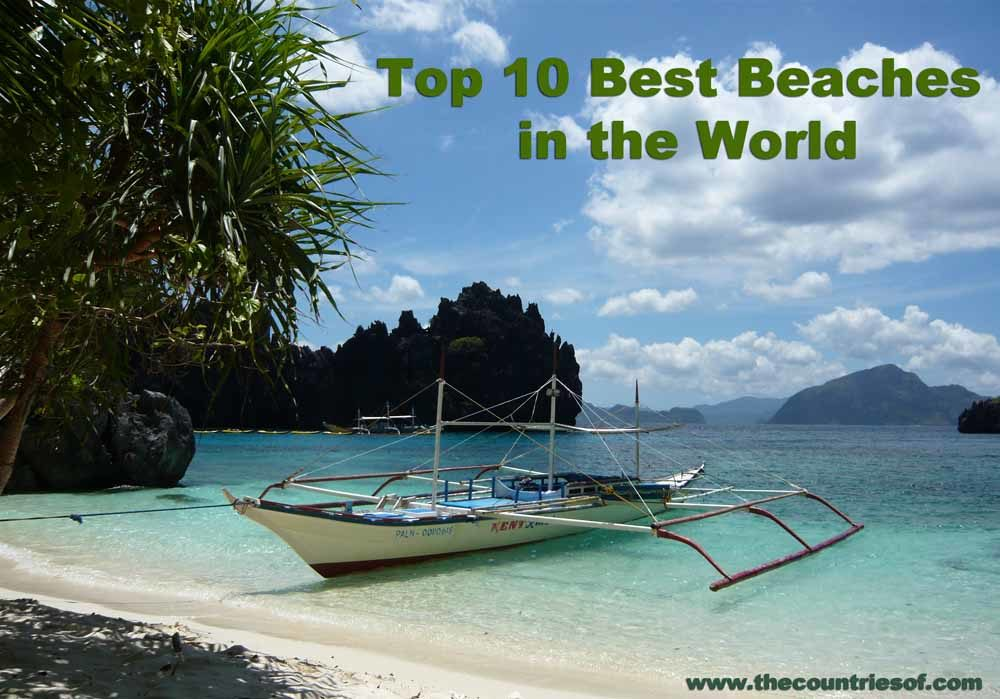 List of top 10 best beaches in the world 2016 most for Top 1 beach in the world