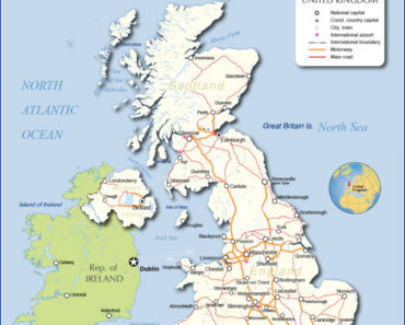 what countries border uk