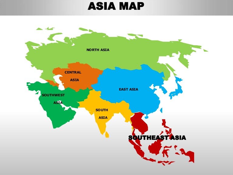 asia continent geography asia countries list map and capitals asia