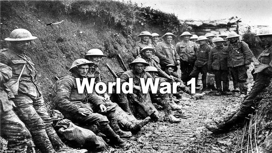 Have thought fist batlle of world war i that necessary